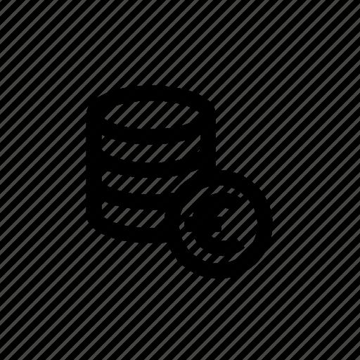 coins, euro, euro coins, finance, money icon