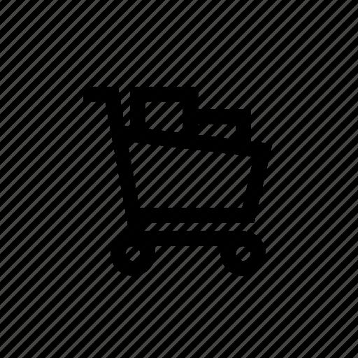 buying, cart, full, product, shopping, shopping cart full, shoppingcart icon