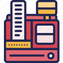 cash, desk, finance, machine, payment, register icon