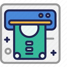 atm, bank, business, cash, currency, money, withdrawal icon