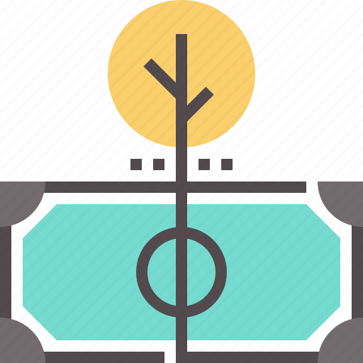insurance, investment, loan, on, return, revenue icon