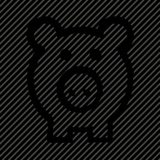 economy, finance, money, piggy, safe icon