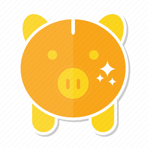 piggy, piggy bank, saving icon