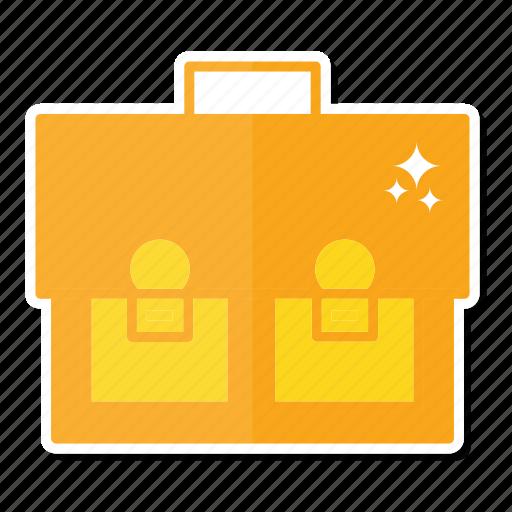bag, briefcase, sack icon