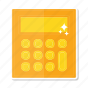 calculator, device, technology icon