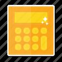 calculator, device, technology icon