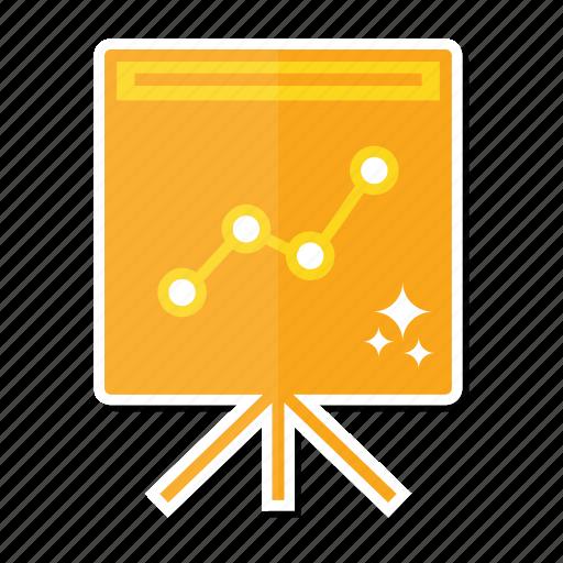 analytics, board, diagram icon