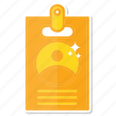 card, id icon