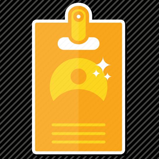 card, id icon