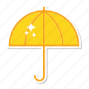invest, rain, umbrella icon