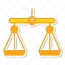 balance, judge, justice icon