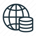 business, cash, global, globe, money, profit, revenue icon