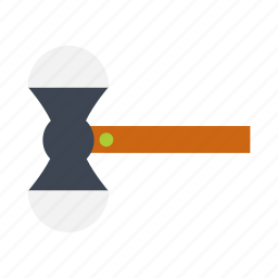 business, falt icon, hammer, justice, management, order icon