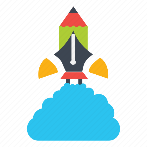 boost, flat icon, hike, rise, rocket, top, upgrade icon