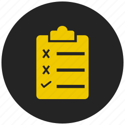 clipboard, document, notepad, option, pad, paste, survey icon
