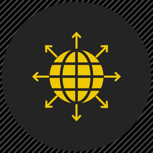 global, internet, planet, travel, web, world, www icon