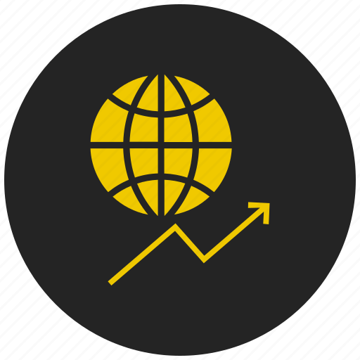 global market, money value, online market, share market, web, world market icon