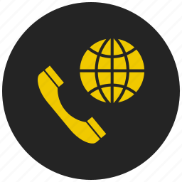 conference call, dial up, gobal, international call, internet, online call, social media icon