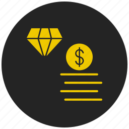 dollar, finance, money transfer, money value, online business, share market icon