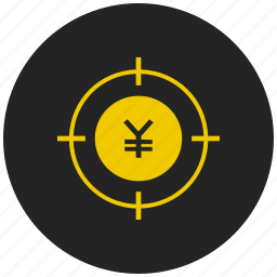 cash, coin, currency, finance, japanese, money, yen icon