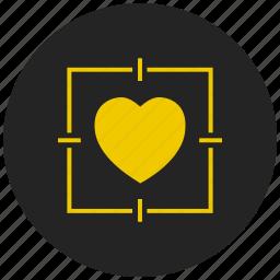 affection, favorite, heartbeat, like, love, romance, valentine icon