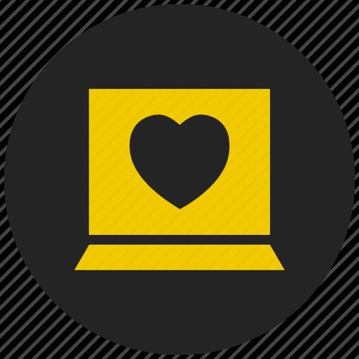 affection, favorite, heart, heartbeat, love, romance, valentine icon