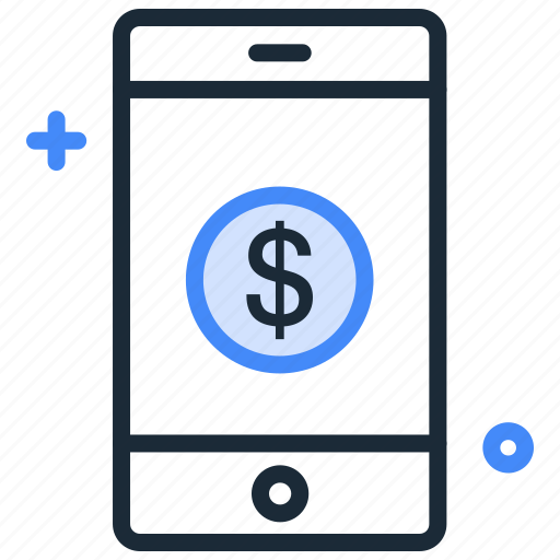 Internet banking, mobile, mobile banking, mobile transfer, online banking icon - Download on Iconfinder