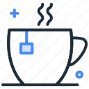 beverage, cup, hot, hot beverage, hot tea, tea icon