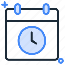 calendar, date, deadline, month, schedule, week icon