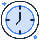 clock, deadline, schedule, time, waiting time, watch icon