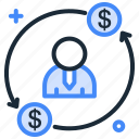 appraisal increment, career growth, growth, increment, promotion icon