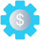 analytics, business, growth, increase, money value, plants icon