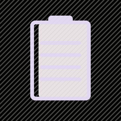business, financee, list, listboard icon