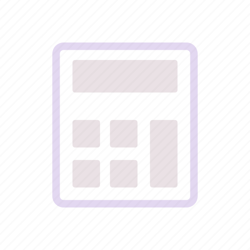 business, calculator, financee icon