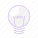 bulblamp, business, idea, lamp icon