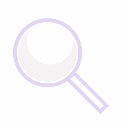 business, financee, magnifier icon