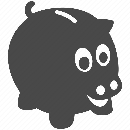 bank, cash, finance, guardar, money, piggy, piggy bank, save icon
