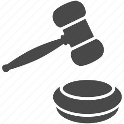 action, auction, hammer, judge, justice, law, lawyer icon