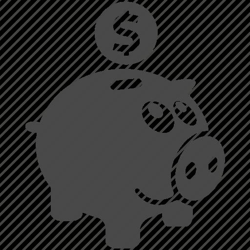 bank, business, coin, finance, money, piggy, piggybank icon
