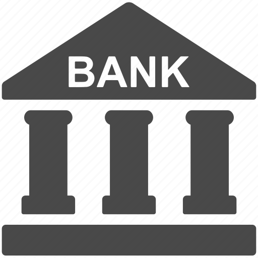 bank, building, business, finance, financial, home, house icon