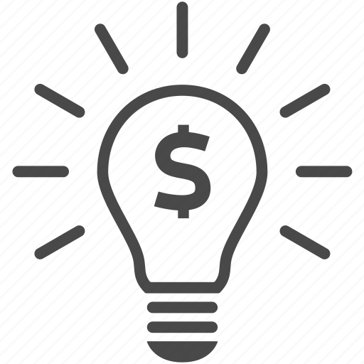 Bulb, creative, energy, idea, light, money icon - Download on Iconfinder