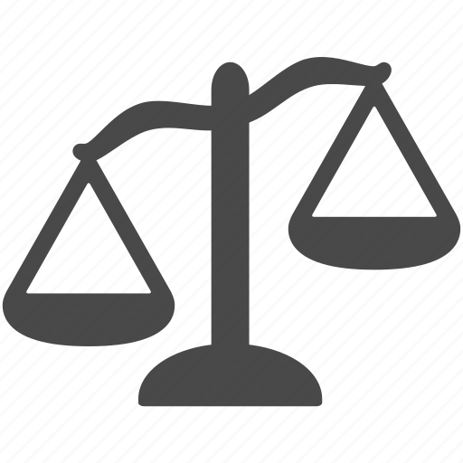 balance, compare, imbalance, law, lawyer, weight icon