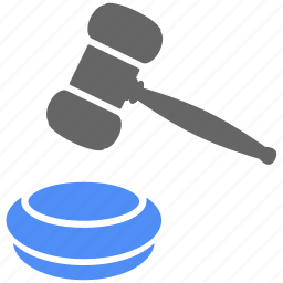 action, auction, finance, hammer, judge, law, lawyer icon