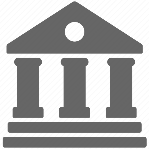 bank, building, business, finance, financial, office icon