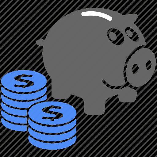 business, finance, financial, money, piggy, piggy bank, piggybank icon