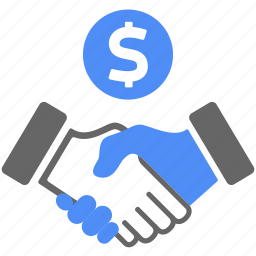 agreement, approved, business, deal, finance, handshake icon