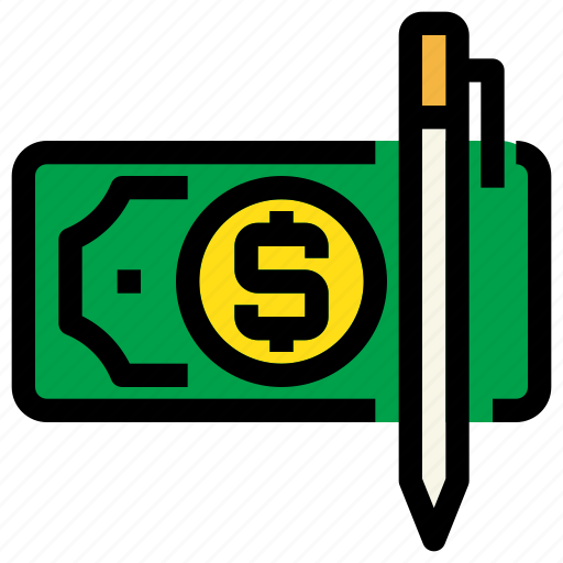 bank, business, check, financial, payment icon