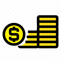 business, coin, financial, money, payment icon