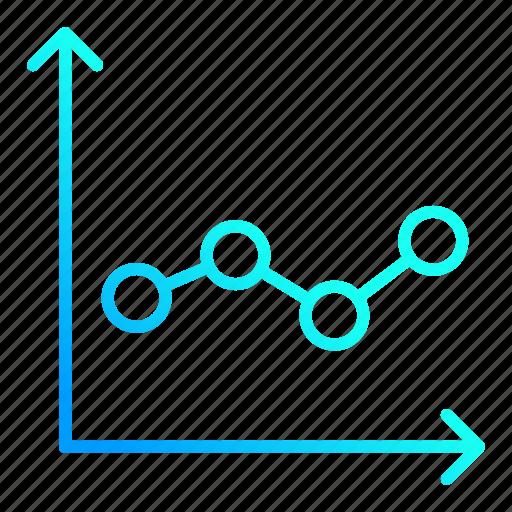 analytics, chart, diagram, financial icon