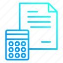 business, data, financial, report icon